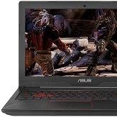 ASUS FX503 - notebooki z GeForce GTX 10x0 debiutują w Polsce