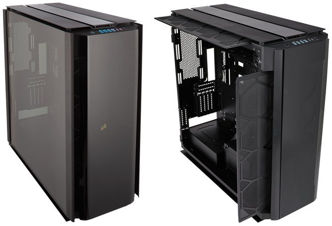 Corsair Obsidian 1000D - Ogromna obudowa na dwa komputery [1]