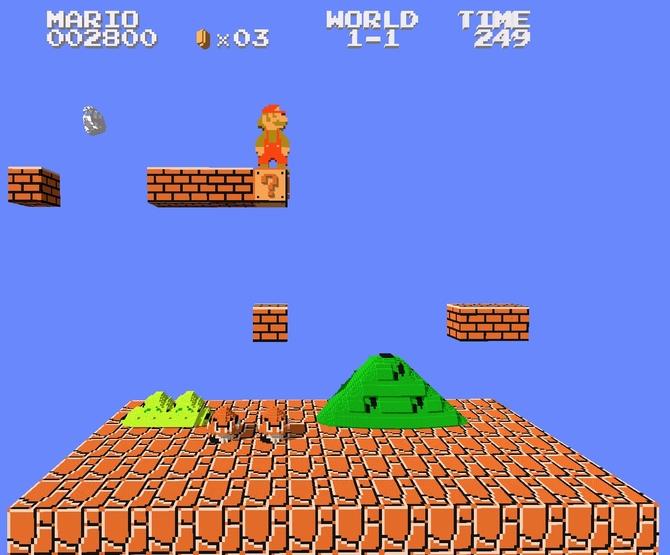3DNes V2: gry z NES-a, Famicoma i Pegasusa z widokiem na 3D [3]