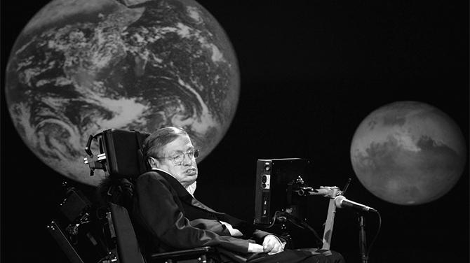 Genialny astrofizyk Stephen Hawking zmarł w wieku 76 lat [1]