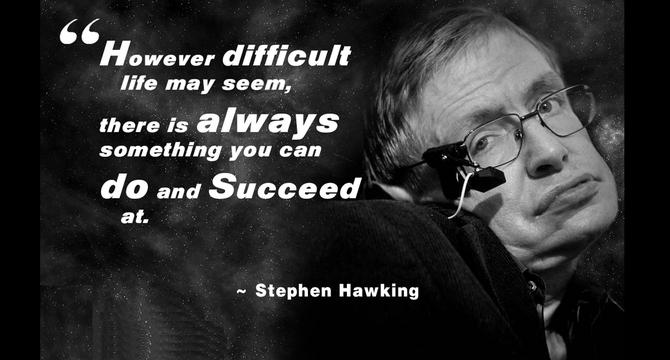 Genialny astrofizyk Stephen Hawking zmarł w wieku 76 lat [2]