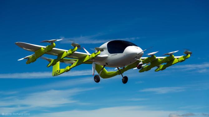 Latająca taksówka Kitty Hawk Cora testowana w Nowej Zelandii [1]