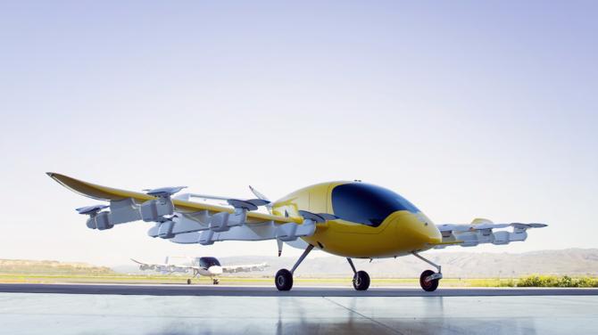 Latająca taksówka Kitty Hawk Cora testowana w Nowej Zelandii [2]