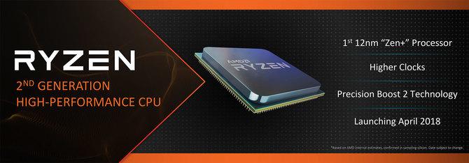 AMD Ryzen 2000 - nowe informacje o specyfikacji i wydajności [1]