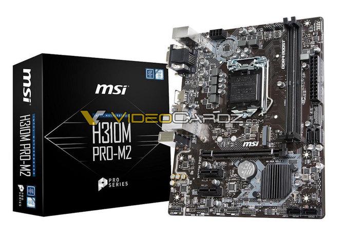 ASRock i MSI - Wyciekły płyty główne H370, B360 oraz H310 [17]
