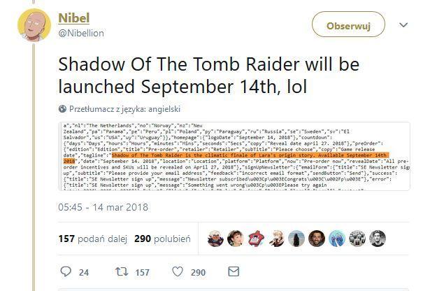 Shadow of the Tomb Raider - znamy datę premiery nowej gry [2]