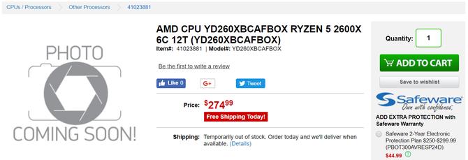 AMD Ryzen 2000 - procesory już dostępne w przedsprzedaży [3]