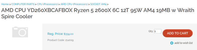 AMD Ryzen 2000 - procesory już dostępne w przedsprzedaży [4]