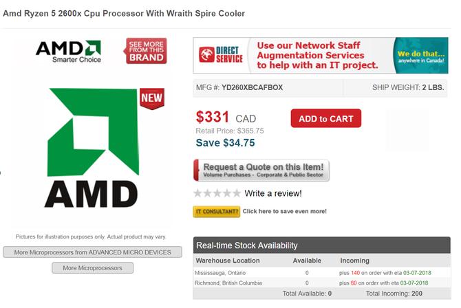 AMD Ryzen 2000 - procesory już dostępne w przedsprzedaży [6]