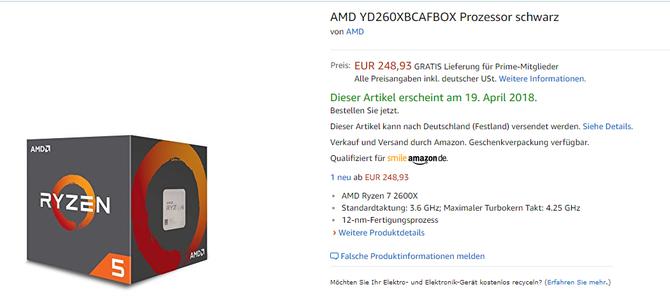 AMD Ryzen 2000 - procesory już dostępne w przedsprzedaży [7]