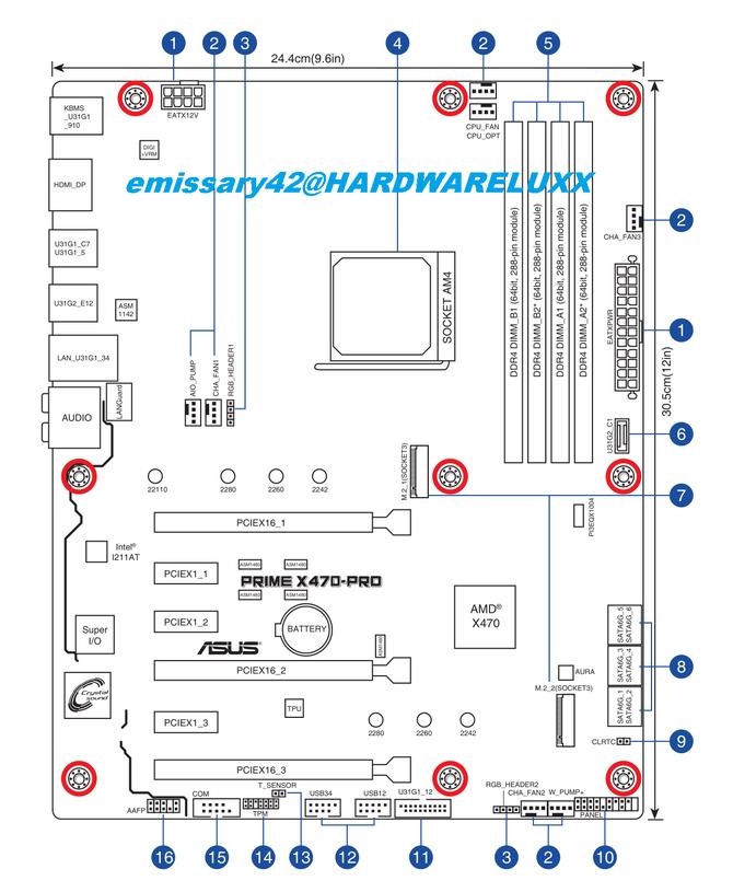 ASUS X470 - nowe informacje o płytach głównych pod AMD Ryzen [2]