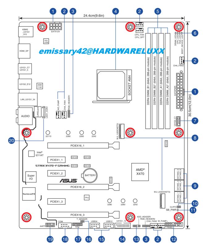 ASUS X470 - nowe informacje o płytach głównych pod AMD Ryzen [3]