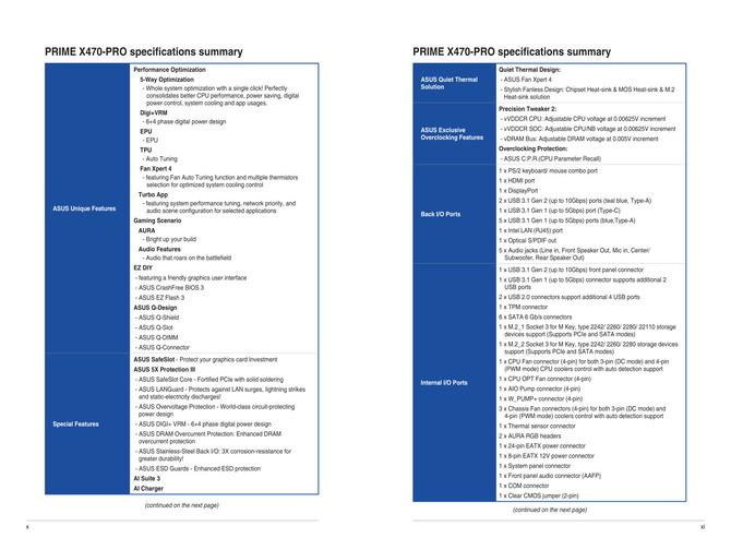 ASUS X470 - nowe informacje o płytach głównych pod AMD Ryzen [6]