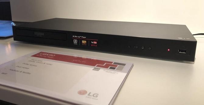 LG UBK90 oraz UBK80 - nowe odtwarzacze płyt Ultra HD Blu-ray [2]