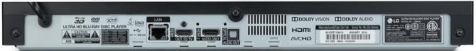 LG UBK90 oraz UBK80 - nowe odtwarzacze płyt Ultra HD Blu-ray [3]