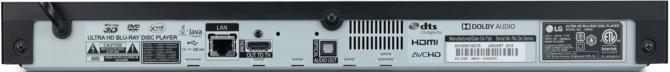 LG UBK90 oraz UBK80 - nowe odtwarzacze płyt Ultra HD Blu-ray [5]