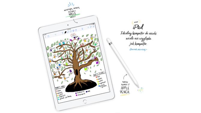 Apple wprowadzi taniego iPada 9.7 do celów edukacyjnych [1]