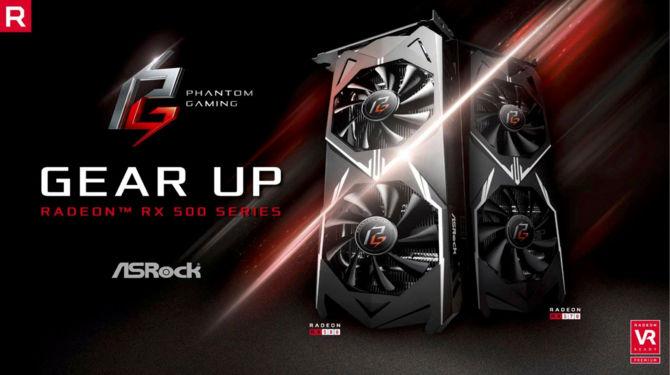 ASRock szykuje karty graficzne Radeon RX 500 Phantom Gaming [1]