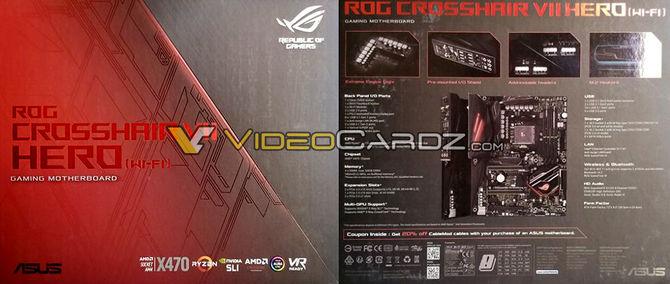 ASUS ROG Crosshair VII X470 Hero na pierwszych zdjęciach [2]