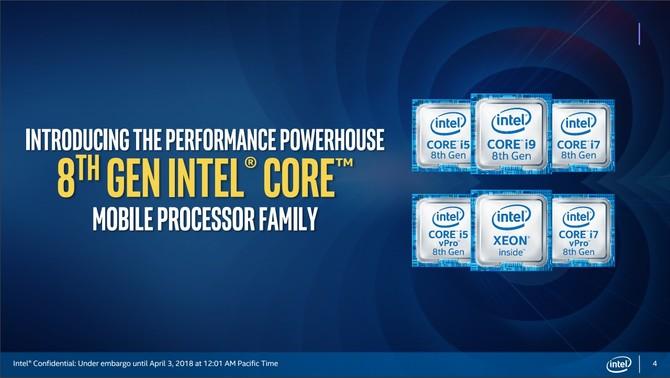Intel Coffee Lake-H - oficjalna premiera 6-rdzeniowych CPU [1]