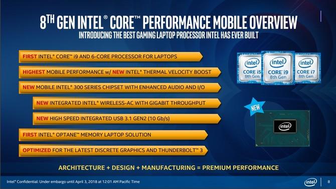 Intel Coffee Lake-H - oficjalna premiera 6-rdzeniowych CPU [3]