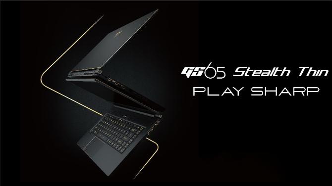 MSI GS65 Stealth Thin - stylowy laptop z Intel Core i7-8750H [1]