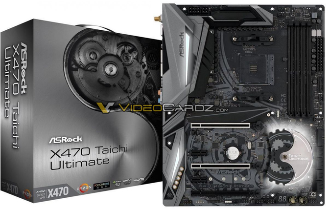 AMD X470 - Wyciek zdjęć płyt głównych od wielu producentów [2]