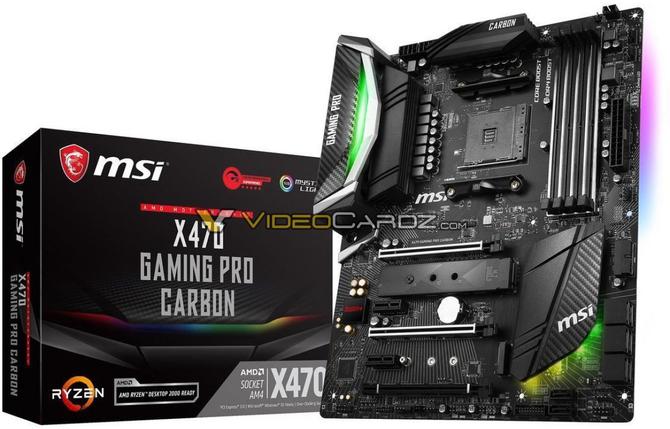 AMD X470 - Wyciek zdjęć płyt głównych od wielu producentów [11]