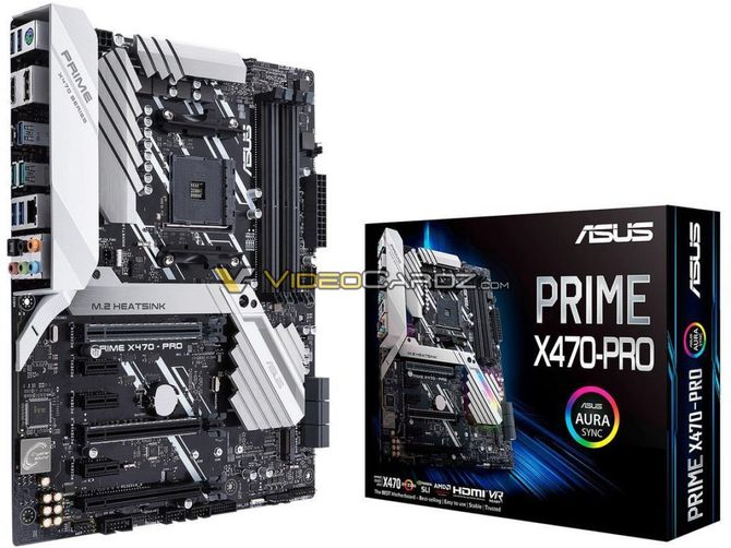 AMD X470 - Wyciek zdjęć płyt głównych od wielu producentów [3]