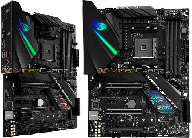AMD X470 - Wyciek zdjęć płyt głównych od wielu producentów [4]