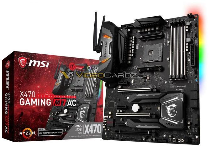AMD X470 - Wyciek zdjęć płyt głównych od wielu producentów [8]