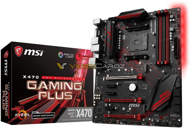 AMD X470 - Wyciek zdjęć płyt głównych od wielu producentów [9]