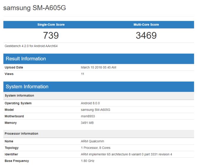 Smartfon Samsung Galaxy A6+ wkrótce trafi do Polski [1]
