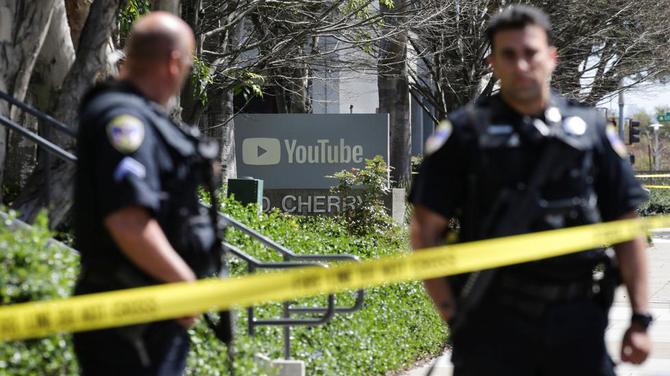 YouTube strzelanina w siedzibie głównej serwisu w Kalifornii [1]