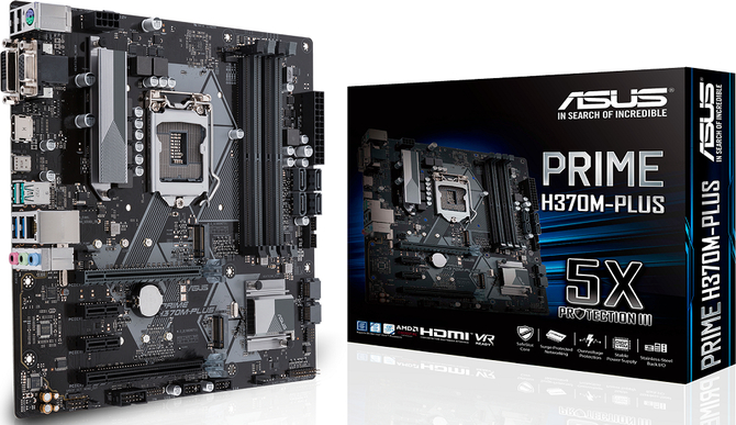ASUS H370 i B360 - Producent chwali się nowymi płytami [3]