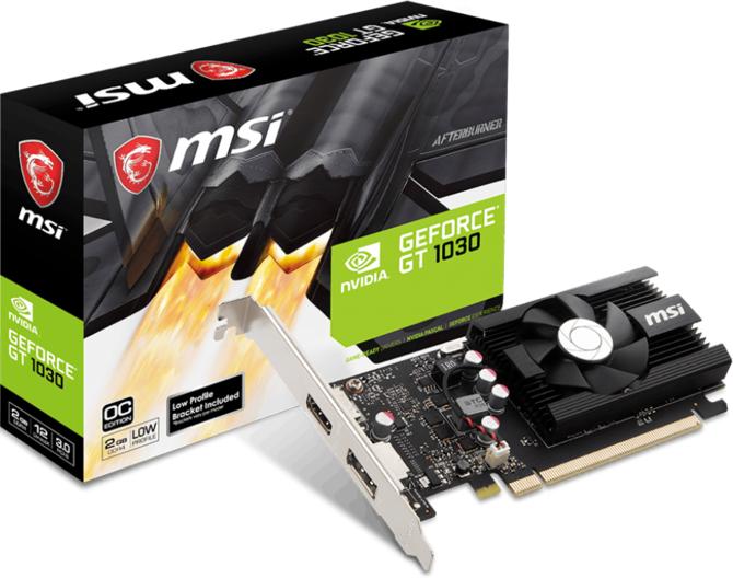Na rynek trafiają słabsze karty GT 1030 z pamięciami DDR4 [1]
