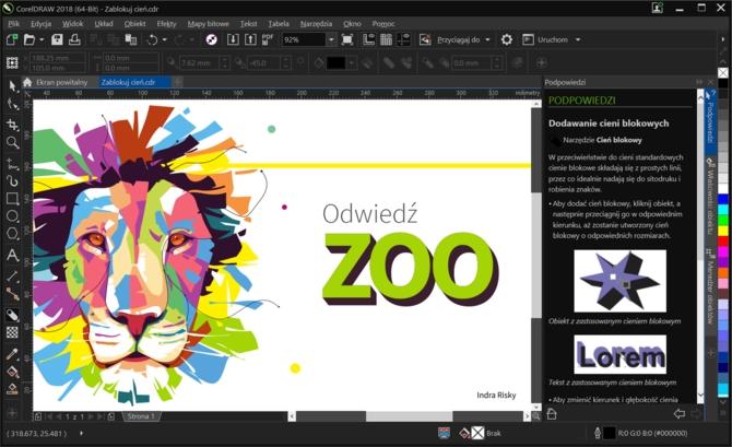 CorelDRAW Graphics Suite 2018 - nowe opcje w nowym roku [1]