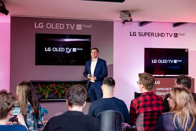 LG OLED 2018 i Super UHD - polska premiera telewizorów [2]