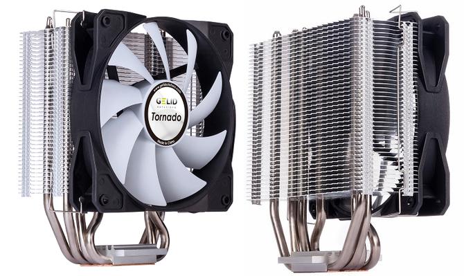 GELID Tornado - Smukłe chłodzenie procesora za 89 złotych [1]