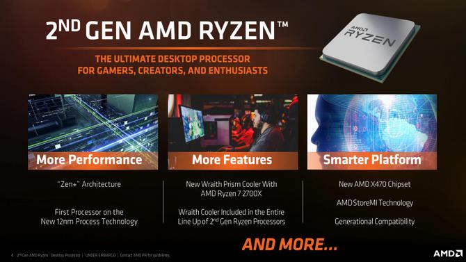 AMD Ryzen 7 2700X i Ryzen 5 2600X Specyfikacja, ceny i testy [2]