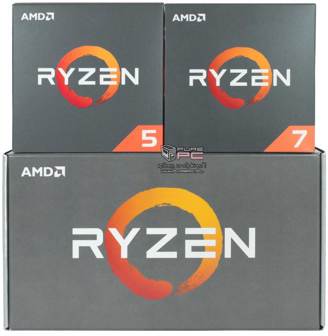 AMD Ryzen 7 2700X i Ryzen 5 2600X Specyfikacja, ceny i testy [nc1]