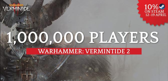 Warhammer: Vermintide II - W miesiąc sprzedano milion kopii [1]