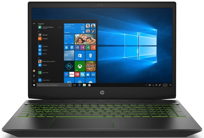 HP odświeża laptopy Pavilion o procesory Intel Coffee Lake-H [2]