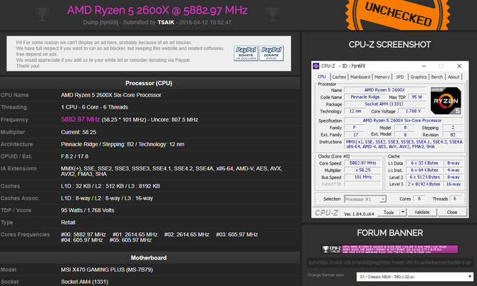 AMD Ryzen 7 2700X i Ryzen 5 2600X podkręcone do 5,8 GHz [2]