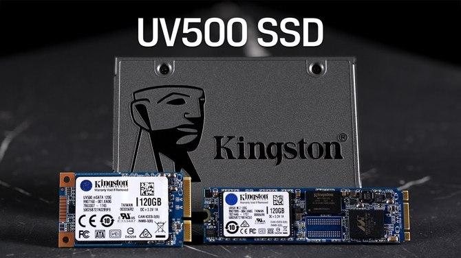 Kingston UV500 - Rodzina dysków z pamięciami 3D TLC NAND [1]