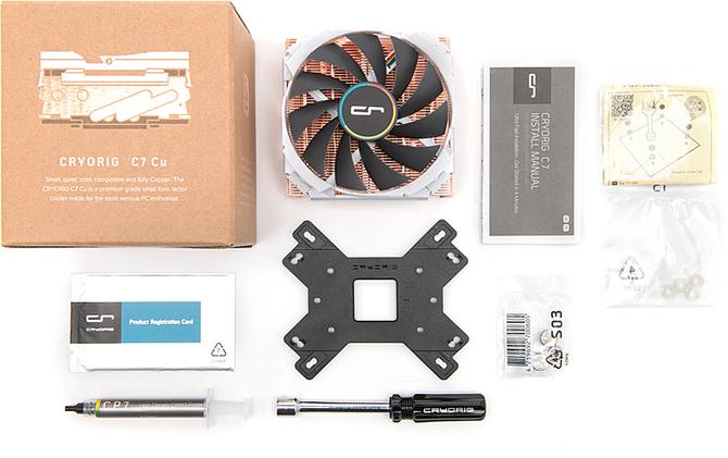 CRYORIG C7 Cu - Całkowicie miedziany cooler CPU [3]