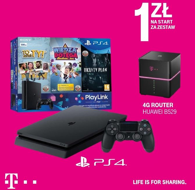 Wygraj z T-Mobile: internet bez limitów i PS4 za 1 zł [1]