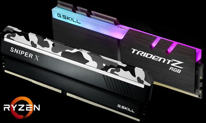 G.SKILL przedstawia moduły RAM dedykowane Ryzenom 2000 [1]