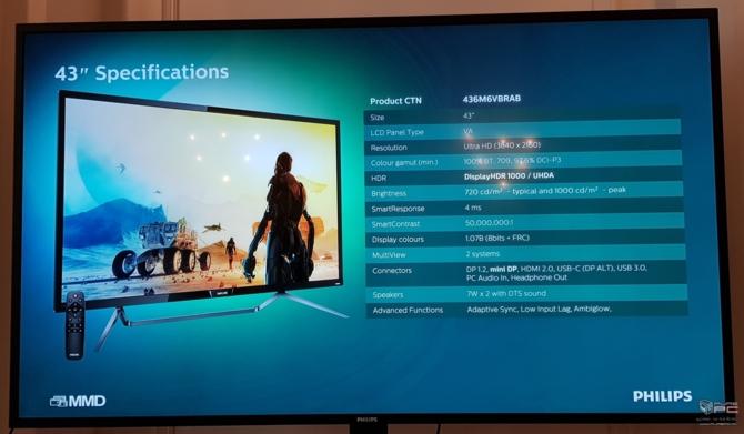 Philips 436M6VBP - nowy monitor dla graczy z DisplayHDR 1000 [12]