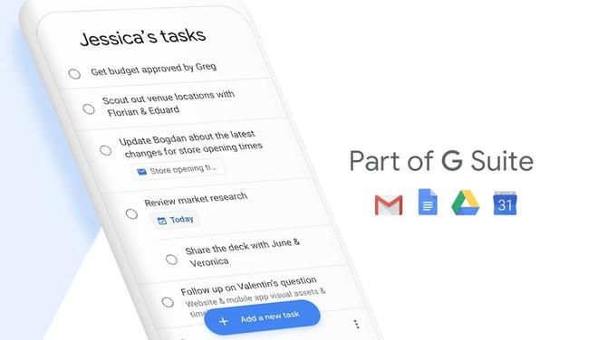 Nowa apka od Google - Lista Zadań - wesprze nowego Gmaila [3]